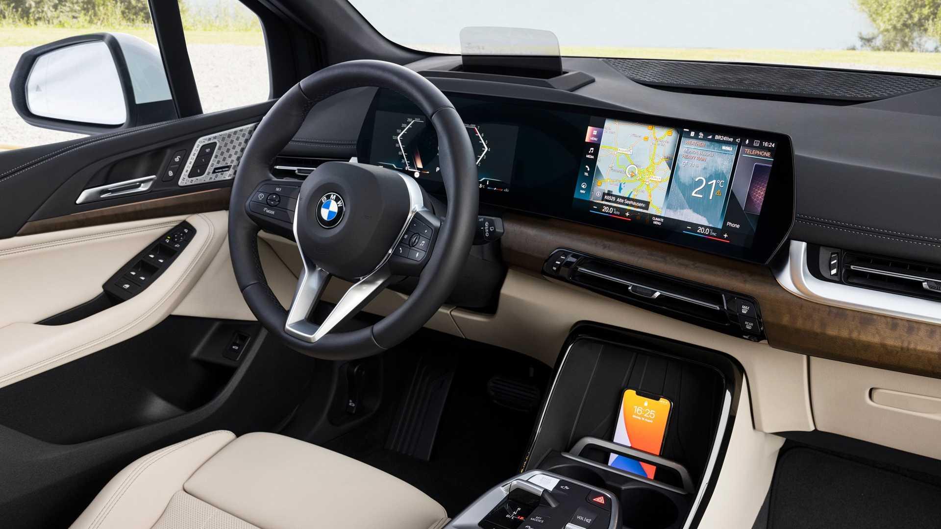 2-es szériás BMW Active Tourer utastere