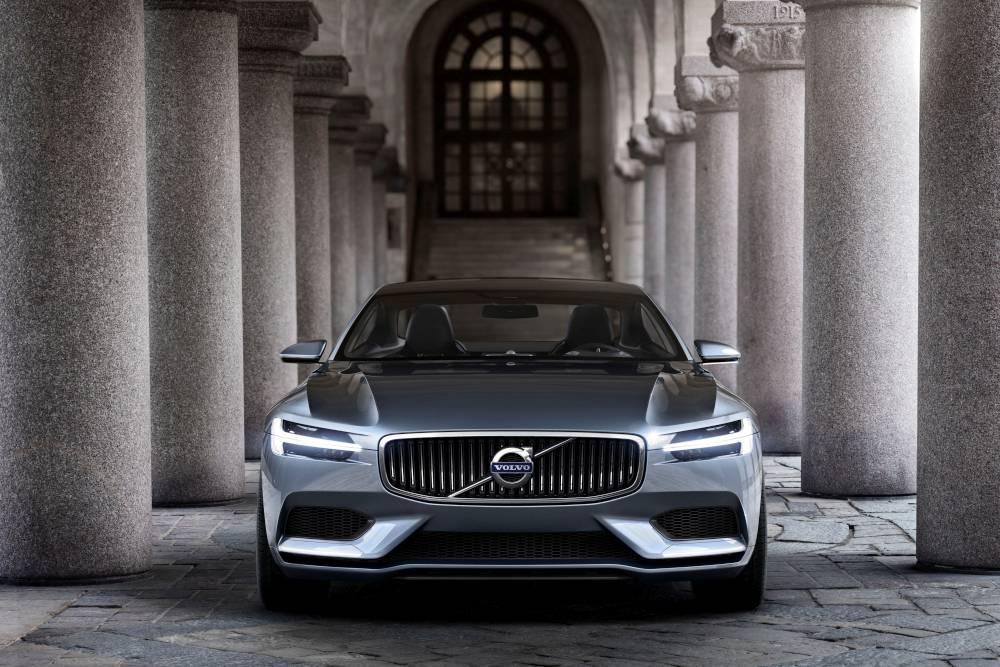 Volvo Concept Coupe szemből